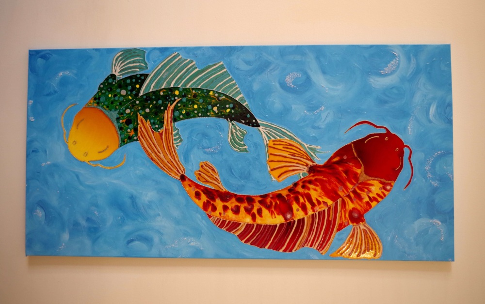 painting-creative-koi-fish